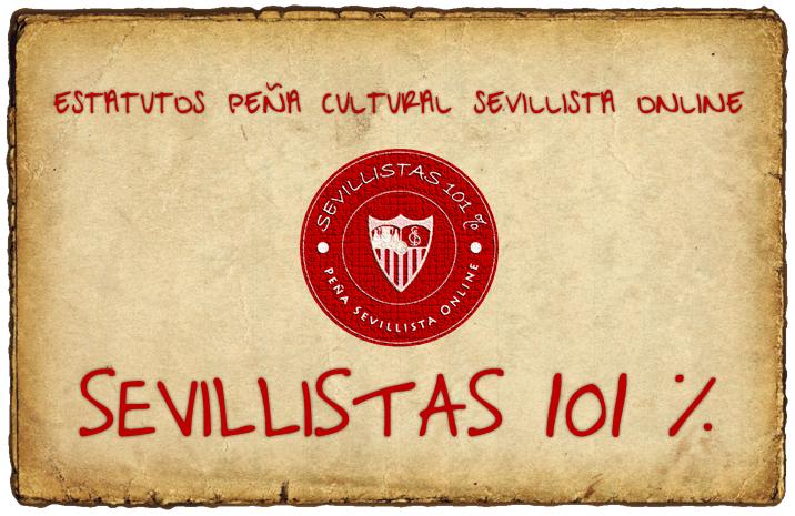 Estatutos PCSO Sevillistas 101%
