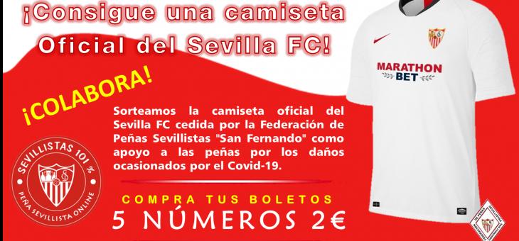 SORTEO CAMISETA SEVILLA FC