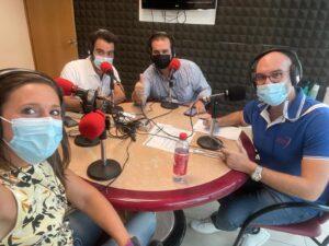 Bernardo, María Pajuelo, Jorge Rodríguez, Jesús Ángel Ramírez